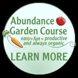 Abundance Garden Button