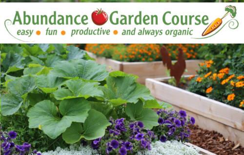 Abundance Garden Course Ad