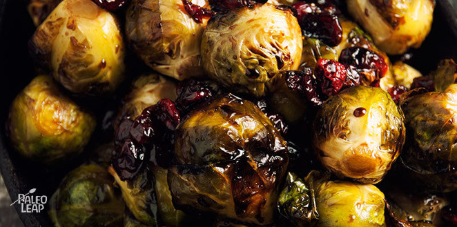 Featured Recipe Brussels Sprouts with Balsamic and Cranberries