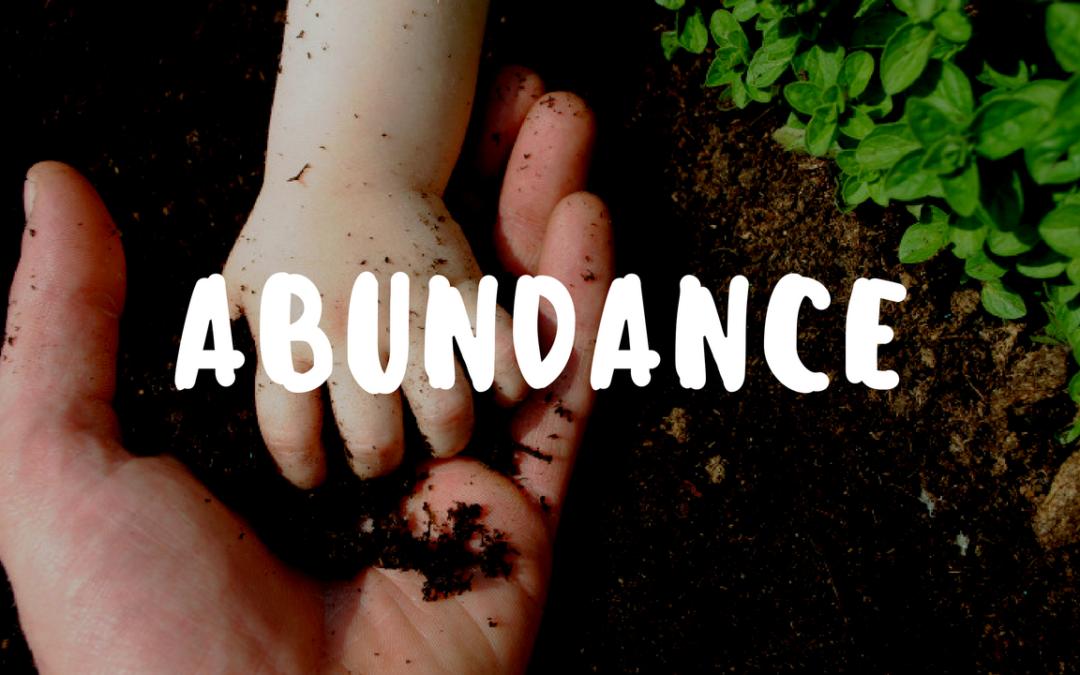 The Abundance My Garden Gives Me – Garden Gift 14